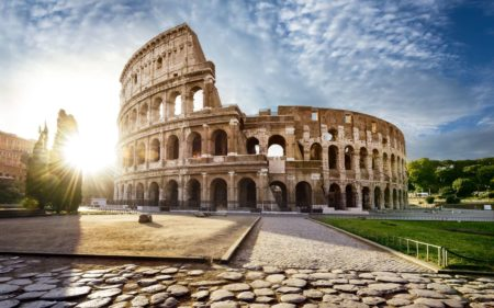 Le Colisée, représentation symbolique de l'étendue de l'ancienne puissance impériale romaine