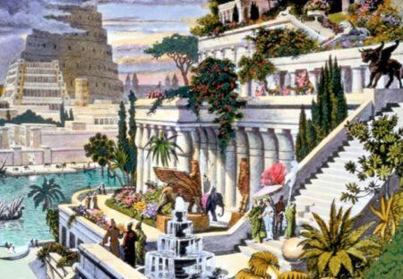 Une belle image colorée de ce qu'aurait pu être les Jardins