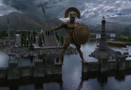 Une reproduction en 3D de cette imposante figure emblématique