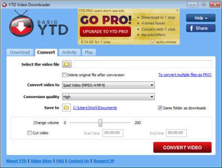 Youtube Video Downloader, un logiciel de téléchargement vidéo complet et facile à manipuler