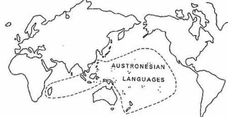 La langue austronésienne constitue 90% des vocabulaires malgaches