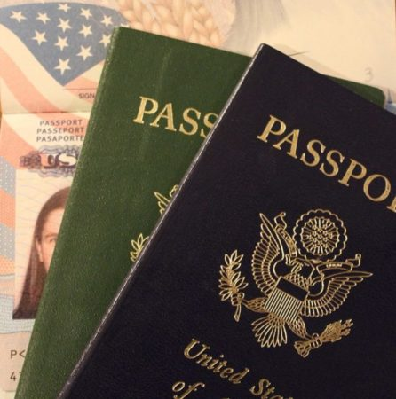 The passport is one of the documents to be provided