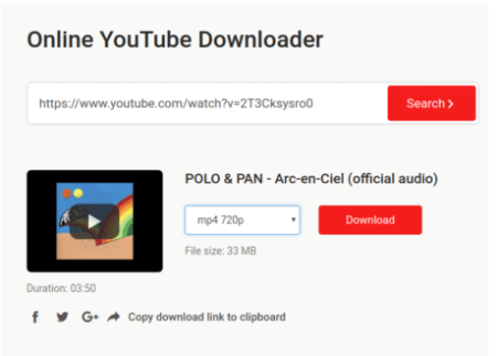 Download Youtube Video : the best free converters