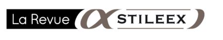 El logotipo de Stileex Post representa el alfa y el signo del infinito