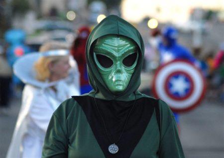 Les extra-terrestres se baladent dans les rues de Roswell
