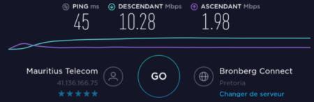 La calidad de la conexión a Internet entre Mauricio y Sudáfrica se confirma con Pretoria