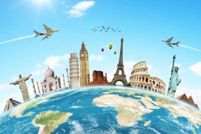 L'anglais est très utilisé dans le monde du tourisme