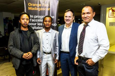 Le 6 juin 2019, le coup de départ a été sifflé pour cette première saison d'Orange Fab Madagascar après six mois de sélection