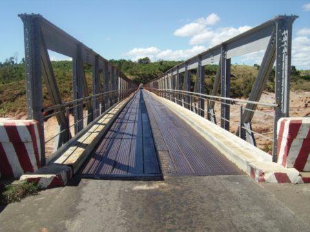 Le pont d'Ankarafantsika sur la RN4