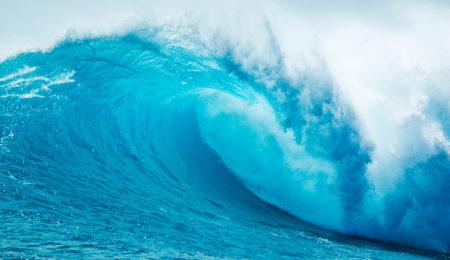 Ce magnifique bleu peut aussi signifier froid et mélancolie