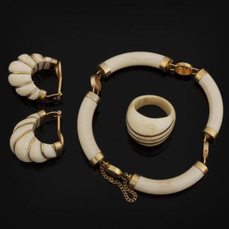 Les bijoux en ivoire sont issus du trafic d'espèces sauvages