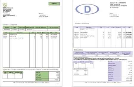 Una nota de entrega, factura o recibo de pago en minutos
