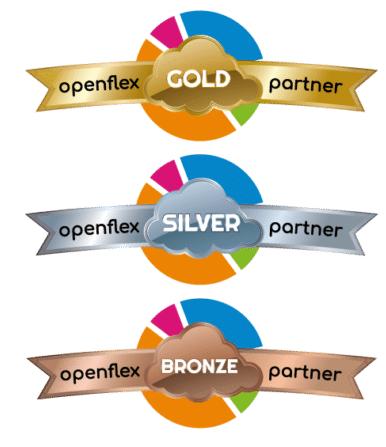Los 3 niveles de revendedor del programa Openflex