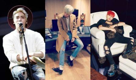 Los más grandes compositores de Kpop (de izquierda a derecha): Jonghyun RIP (SHINee), Zico (Block B) y el legendario GDragon (Big Bang), el rey del Kpop:)