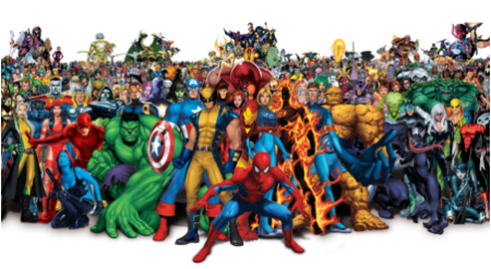 Un mundo que te hace soñar, el mundo Marvel