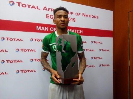 Anicet Abel Andrianantenaina a été élu homme du match deux fois lors de la CAN