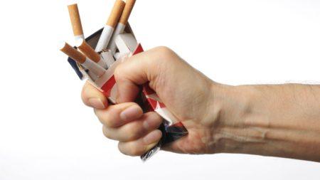 N'ayez pas peur de jeter les cigarettes qui vous restent