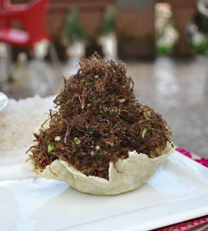 La varanga est un plat populaire de l'art culinaire malgache