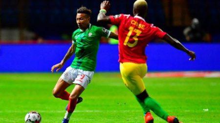 Anicet Abel a été désigné homme du match lors du jeu contre la Guinée le 22 juin 2019