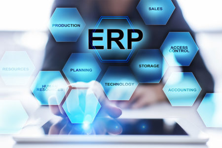 ERP software for the management of all company processes
