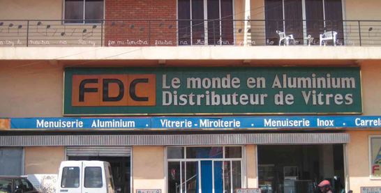 Voici l'agence FDC d'Analamahitsy