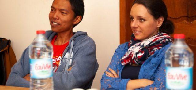 et Mathilde BENRAMDANE, co-présidentes de la FrenchTech Madagascar