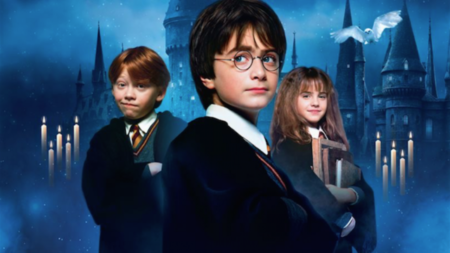 Rupert Grint, Daniel Radcliffe and Emma Watson, the performers of the leading roles in the film saga