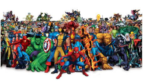 A world that makes you dream, the Marvel world