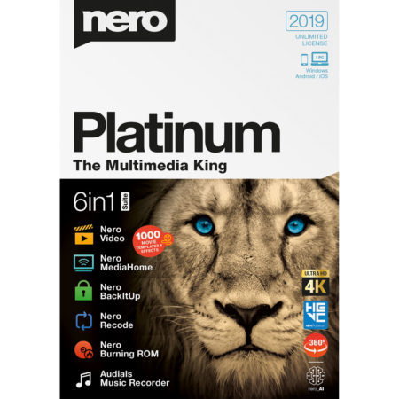 Nero Platinium in 2019… what if we talk about it ?