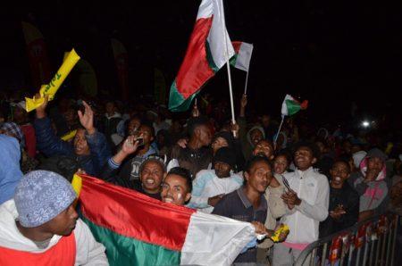 Nicolas Dupuis remercie tous les malgaches pour leur soutien
