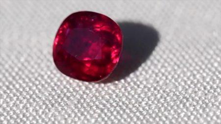 Le rubis est l'une des pierres précieuses les plus chères au monde