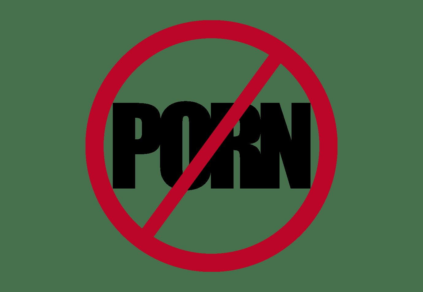 Say no to porn