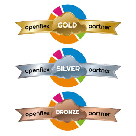 The 3 Reseller levels of the Openflex Program