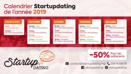 L'événement de réseautage de l'agenda août 2019