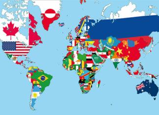 Connaissez vous chaque continent, pays, capitales et drapeaux du monde ? Les voici !