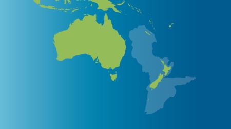 Zealandia, le nouveau continent quasi-submergé, situé près de l'Australie