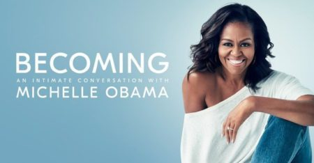 Becoming, Michelle Obama's memoirs