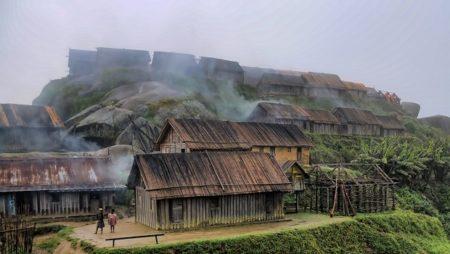 À cause de la déforestation, le peuple Zafimaniry a dû s'installer dans les montagnes