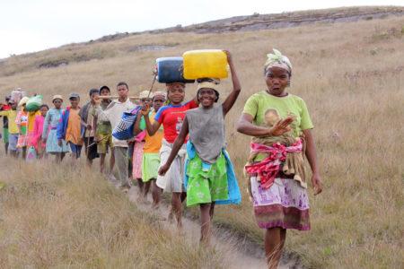 Les Zafimaniry peuplent la partie sud-est de l'île