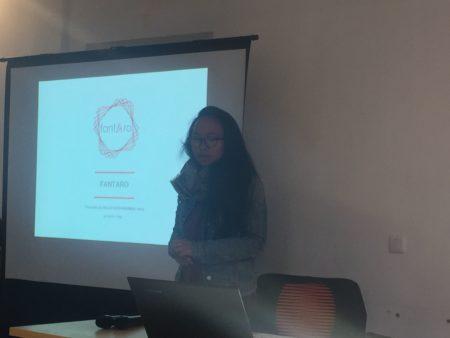 Anna RAZAFINDRAMIARINA, fondatrice de Fantaro, une application destinée à tester les connaissances sur la culture et la tradition malgache