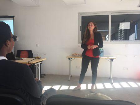 Julia VENN, fondatrice de Foodwise, entreprise sociale œuvrant également dans l'économie collaborative