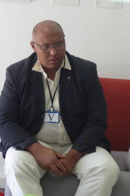 Gil RAZAFINTSALAMA, président de l'ESTI