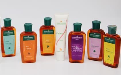 Gamme huiles et crèmes d'Homeopharma