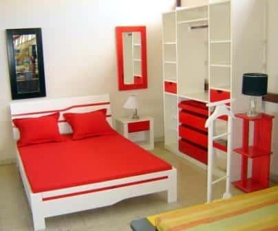 Chambre avec les meubles Hazovato