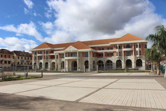 L'Hôtel de Ville à Analakely