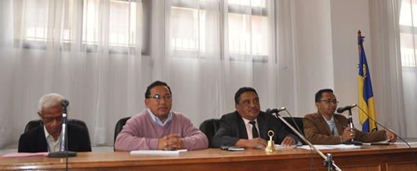 Session du conseil municipal