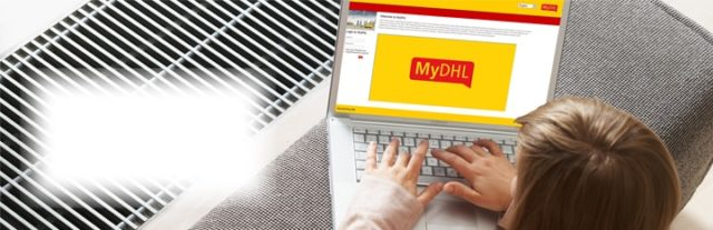 Commande en ligne avec MyDHL