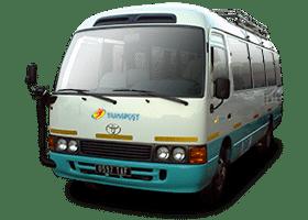 Transpost, service de transport de voyageurs de la Paositra