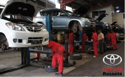 Garage Toyota Rasseta