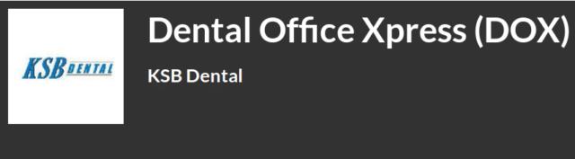Dental Office Xpress (DOX), software especializado en ortodoncia y pedodoncia